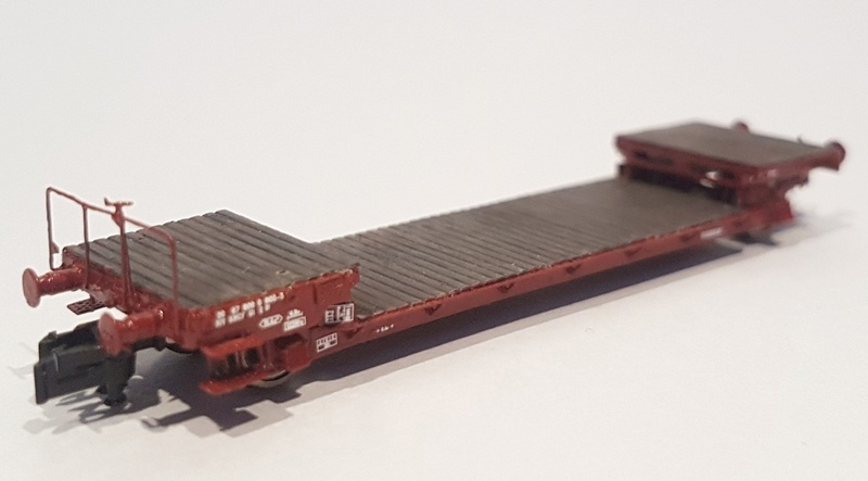 [TJ-Modeles] Plat surbaissé Arbel 20t - Ech. N Tj-75411