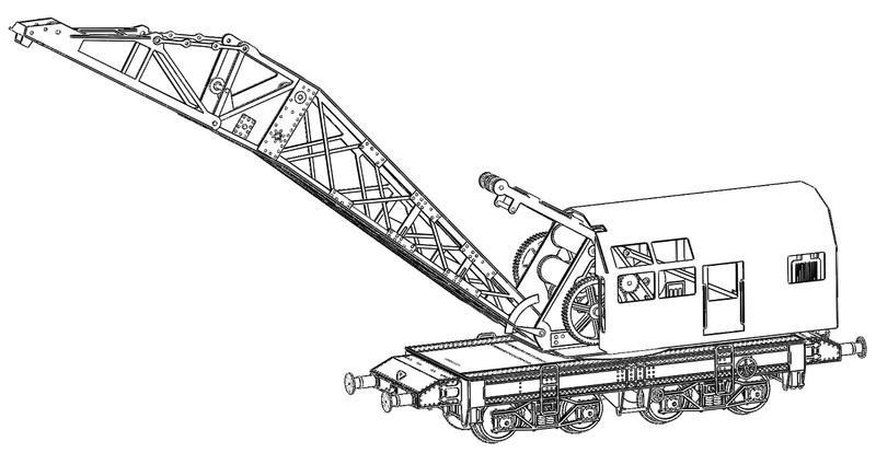 [TJ-Modeles] Grue Caillard - Echelle N Tj-76010