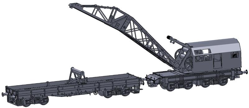 [TJ-Modeles] Grue Caillard - Echelle N Tj-76012