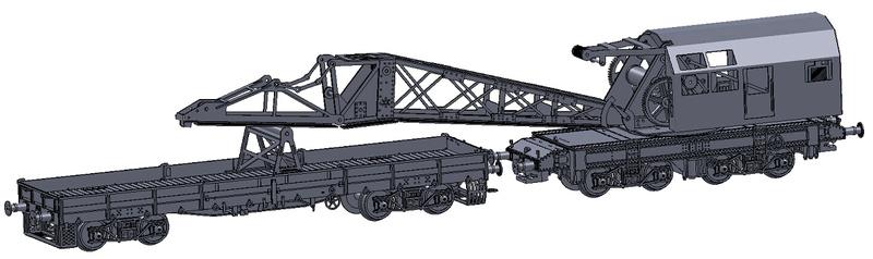 [TJ-Modeles] Grue Caillard - Echelle N Tj-76013