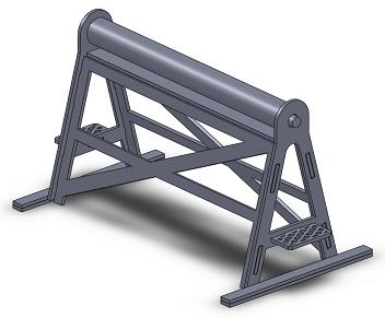 [TJ-Modeles] Grue Caillard - Echelle N Tj-76014
