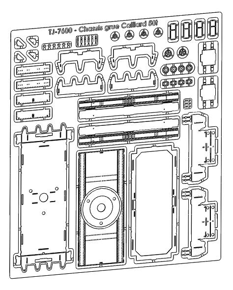 [TJ-Modeles] Grue Caillard - Echelle N Tj-76016