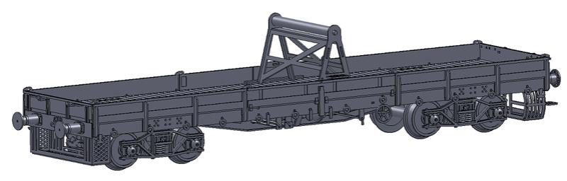 [TJ-Modeles] Grue Caillard - Echelle N Wagon10