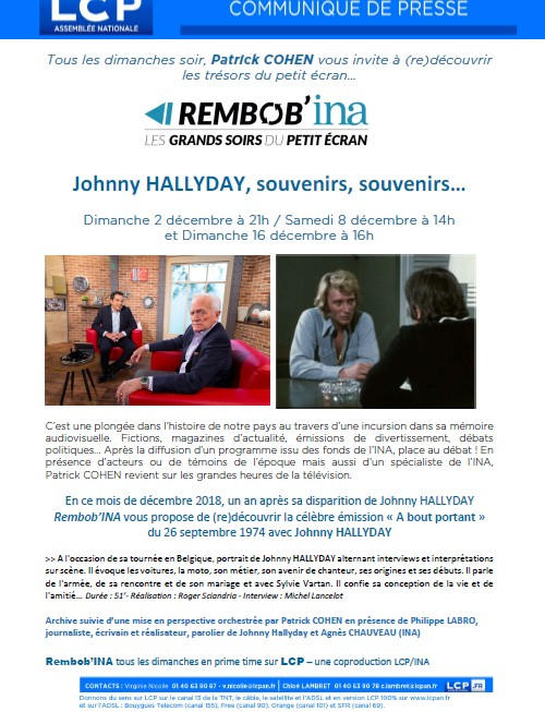 Johnny sur LCP Lcp10