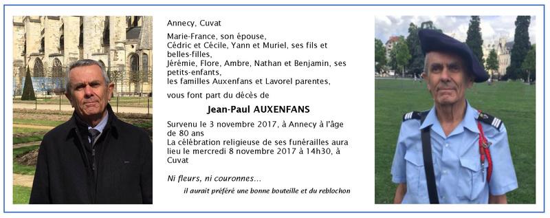 _ Décès de Jean-Paul Auxenfans Amplbh10