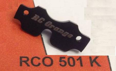 [A SUPPRIMER] Pièce renfort châssis PN - RC ORANGE réf RCO501K Recher10