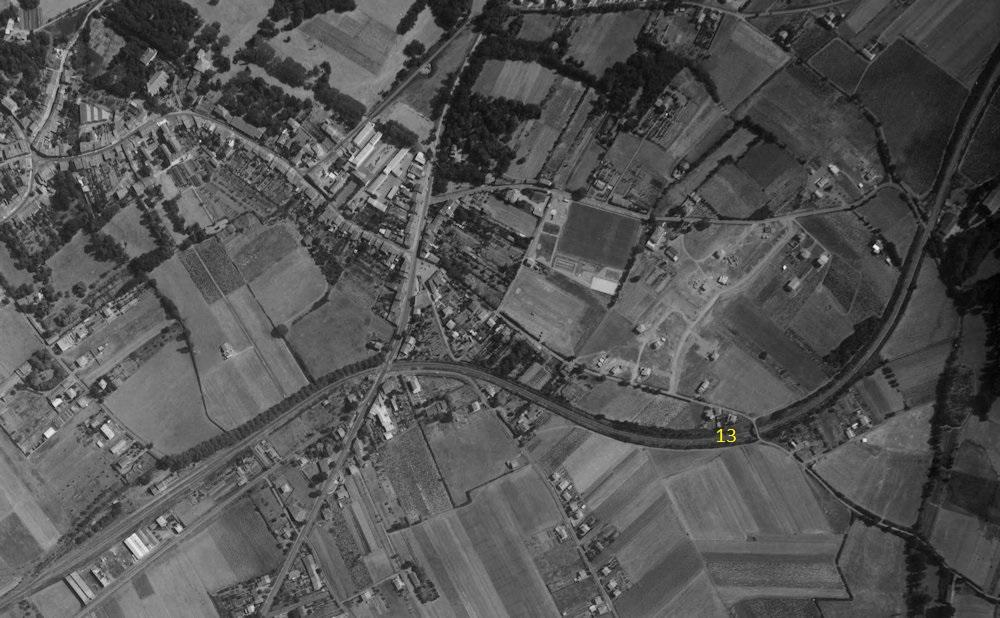 2 P.k.16.9 (ancien tracé) 1961/69 Contournement de Colomiers 12_19610