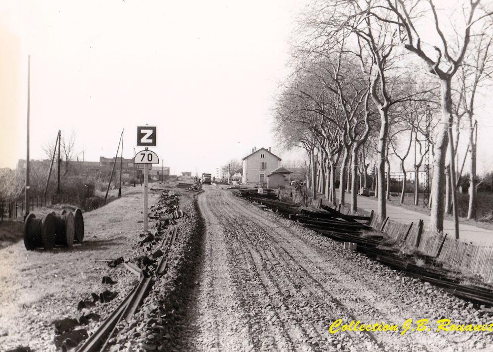 2 P.k.16.9 (ancien tracé) 1961/69 Contournement de Colomiers 16_img10