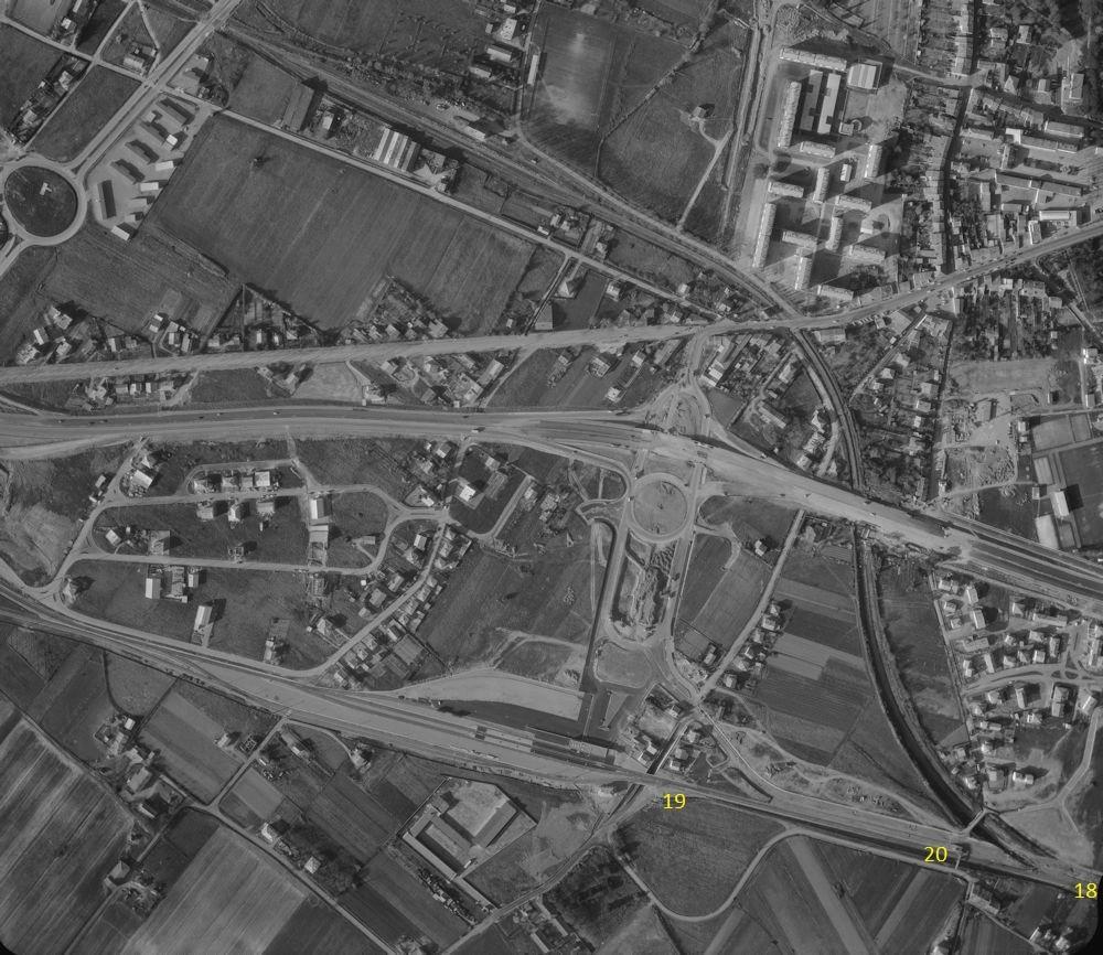 3  P.k.16.4 (nouveau tracé) 1961/69 Contournement de Colomiers. 17_19610