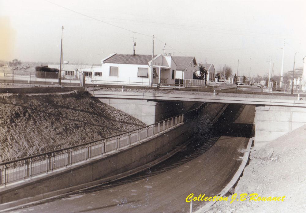 3  P.k.16.4 (nouveau tracé) 1961/69 Contournement de Colomiers. 19_pon10