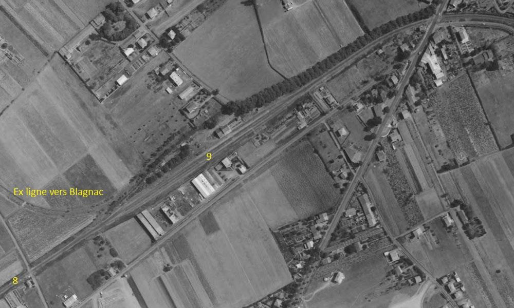2 P.k.16.9 (ancien tracé) 1961/69 Contournement de Colomiers 1_196210