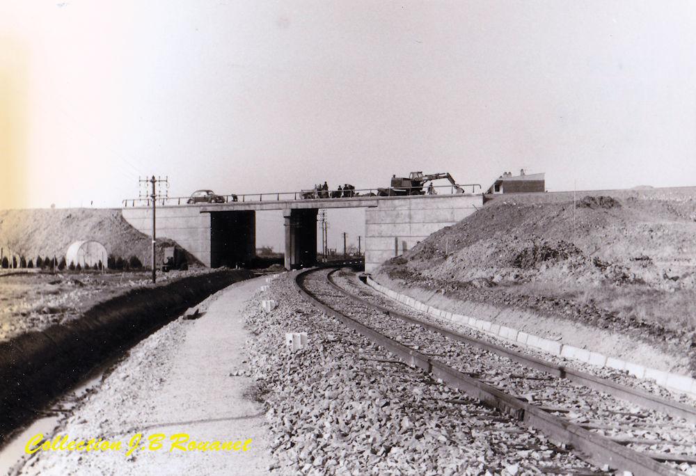 3  P.k.16.4 (nouveau tracé) 1961/69 Contournement de Colomiers. 23_nou10