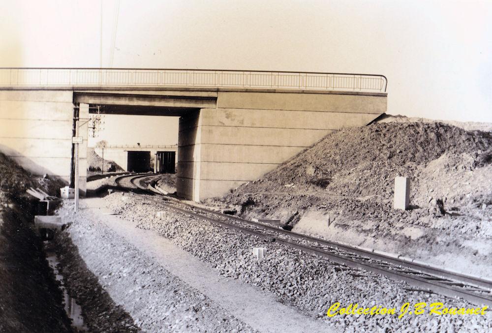 3  P.k.16.4 (nouveau tracé) 1961/69 Contournement de Colomiers. 24_nou10