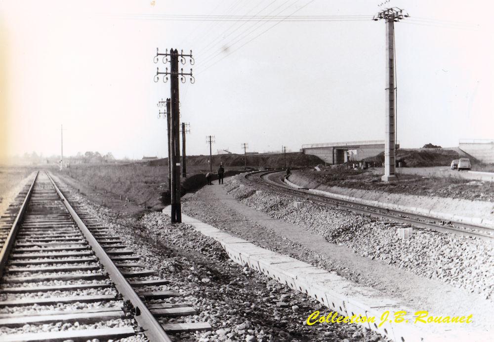 3  P.k.16.4 (nouveau tracé) 1961/69 Contournement de Colomiers. 26_nou10