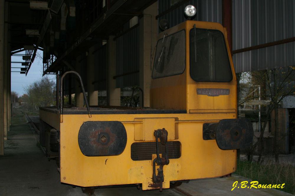 Tracteur Decauville Tracte10