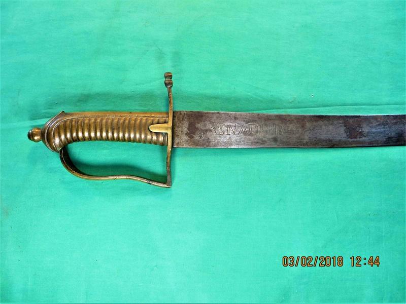 sabre de grenadier 1767  Img_7819