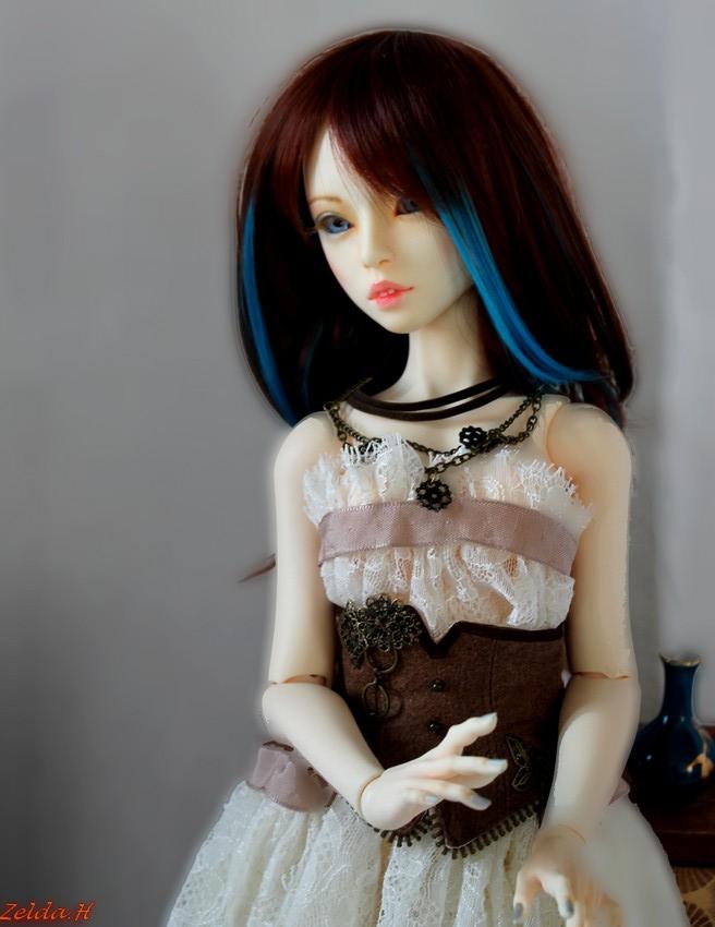 [V]Tiny*MNF*Ebony mini MSD*SD Miracle Doll/IMDA52  Oona_510