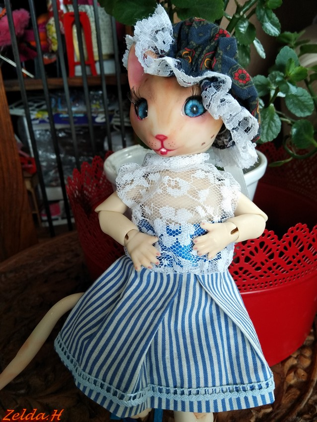 [V]Tiny*MNF*Ebony mini MSD*SD Miracle Doll/IMDA52  Tillou11