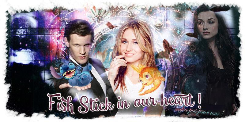 Cléo Pescerosso & Stitch ❖ Fish Stick 0017