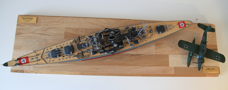 Scharnhorst 1/400 Heller opération Juno 1940  Img_0419