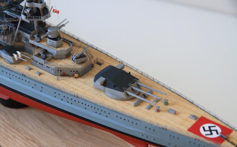 Scharnhorst 1/400 Heller opération Juno 1940  Img_0428