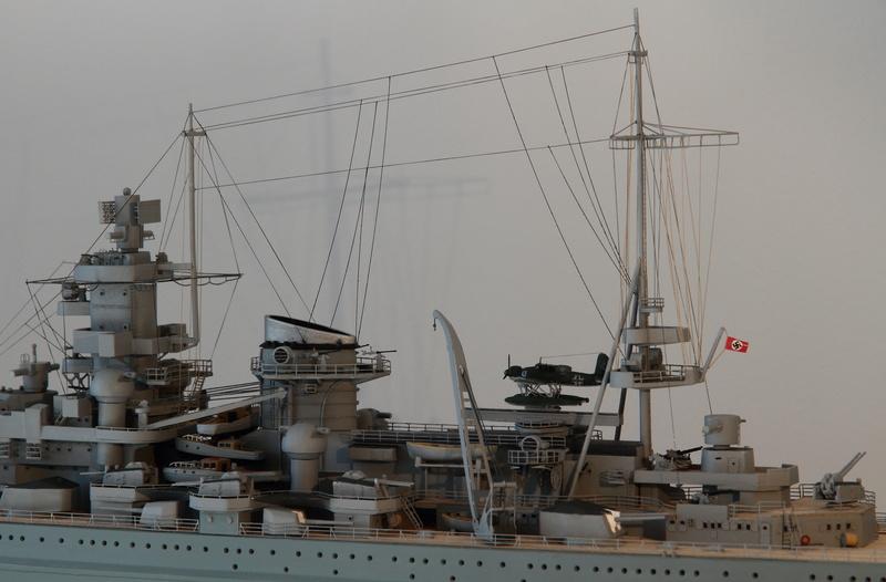 Scharnhorst 1/400 Heller opération Juno 1940  Img_0430