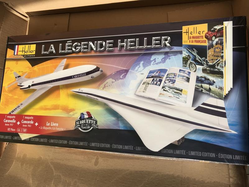 [HELLER] La légende HELLER ( coffret des 60 ans ) -1/100e  ref 52324 Img_4120