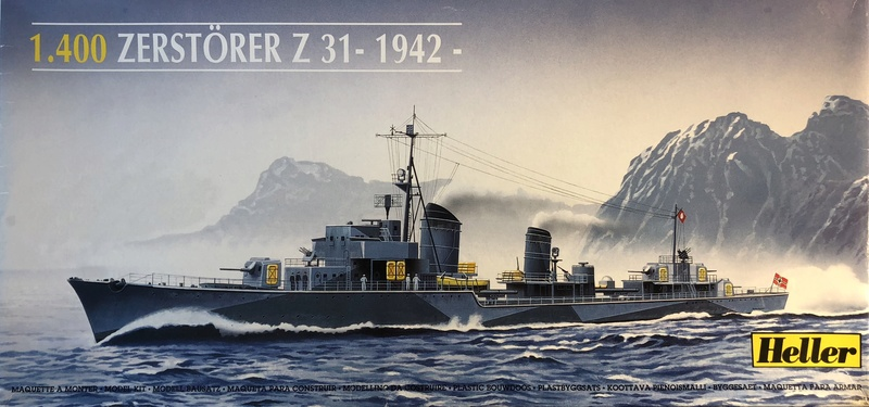 Destroyer classe 1936A Z31 Norvège 1942 Réf 81010 Photo_10