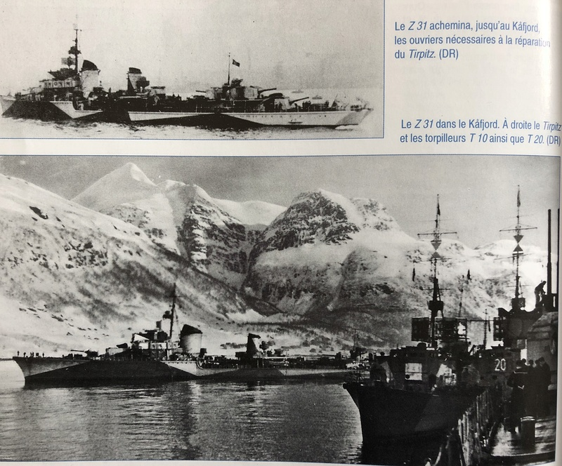 Destroyer classe 1936A Z31 Norvège 1942 Réf 81010 Photo_12