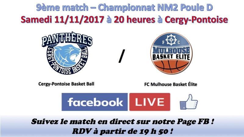[J.09] Cergy-Pontoise Basket-Ball - FC MULHOUSE  : 65 - 62 - Page 2 Annonc10