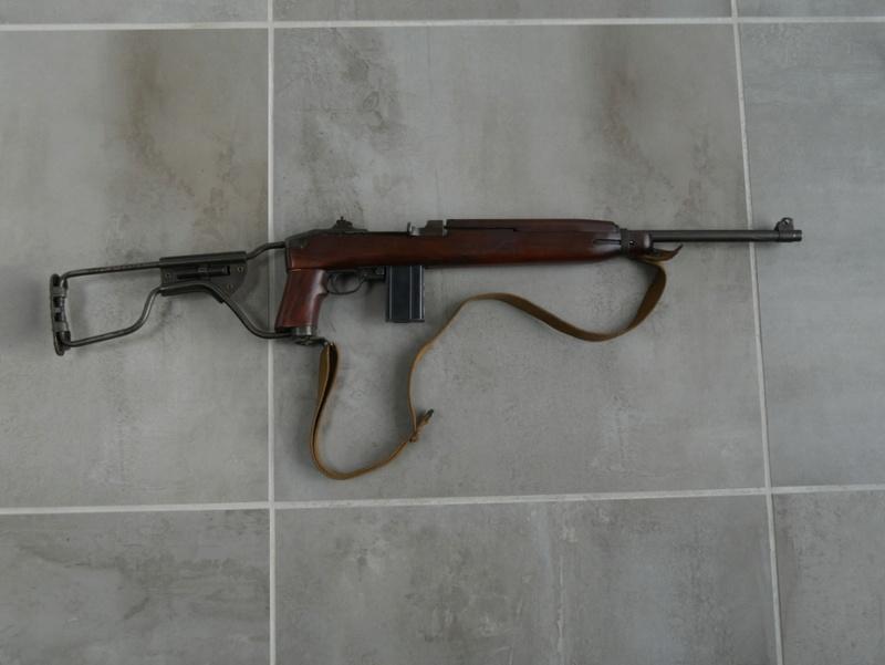 Carabine USM1 A1 excellent état P1000120