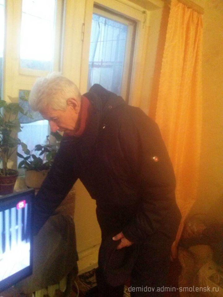 Депутат Смоленской областной думы П.М. Беркс с рабочим визитом побывал в поселке Пржевальское 310