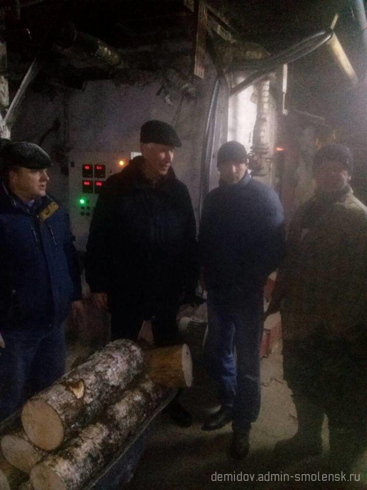 Депутат Смоленской областной думы П.М. Беркс с рабочим визитом побывал в поселке Пржевальское 510