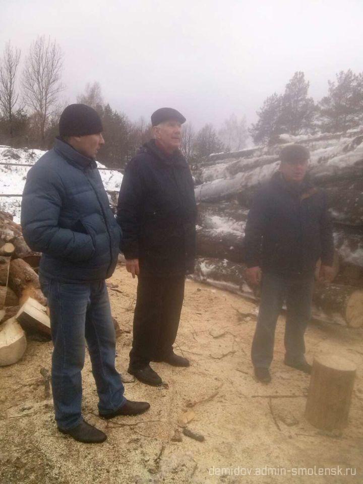 Депутат Смоленской областной думы П.М. Беркс с рабочим визитом побывал в поселке Пржевальское 610