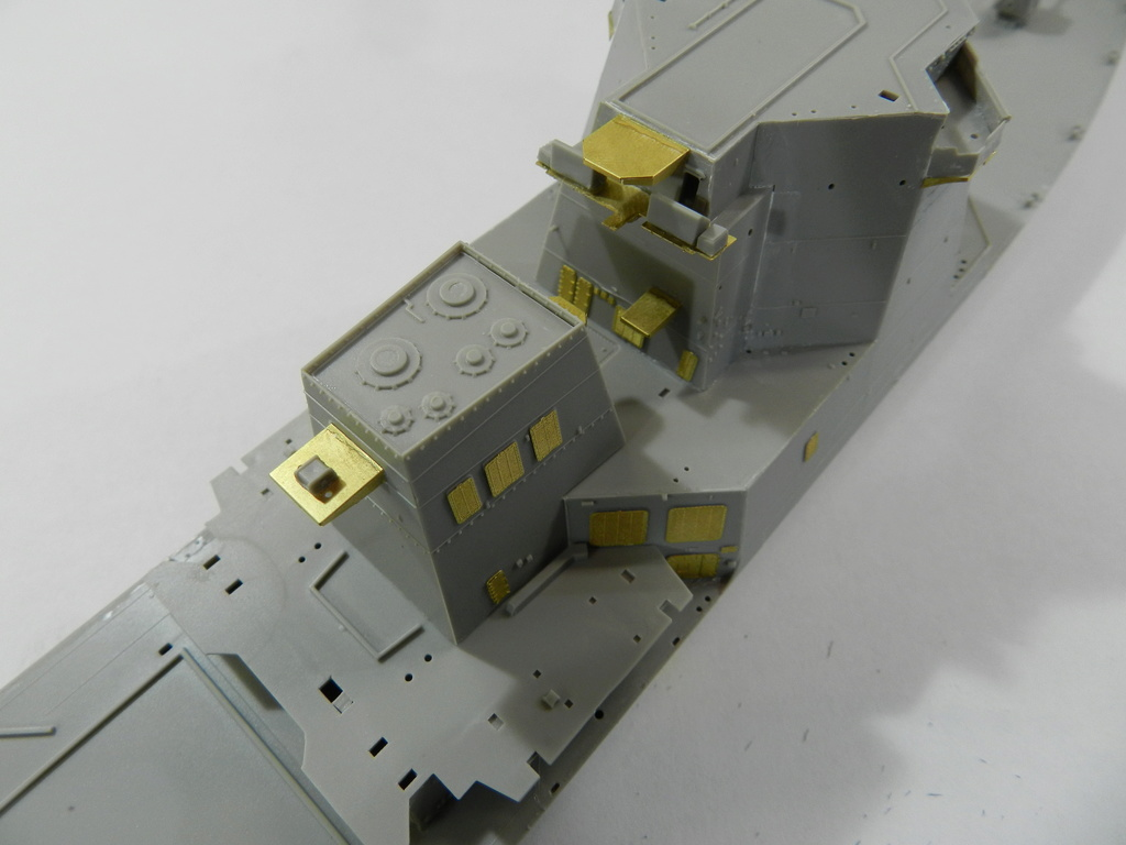 JMSDF DDG-177 ATAGO Trumpeter 1/350 Dscn2540