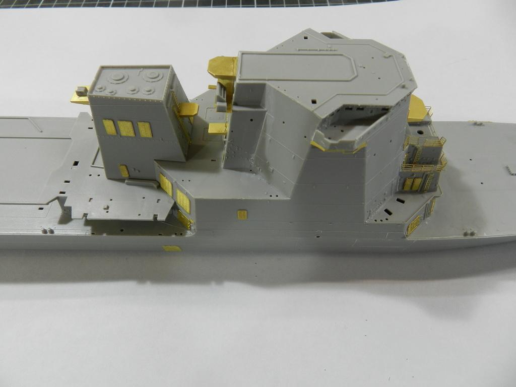 JMSDF DDG-177 ATAGO Trumpeter 1/350 Dscn2544