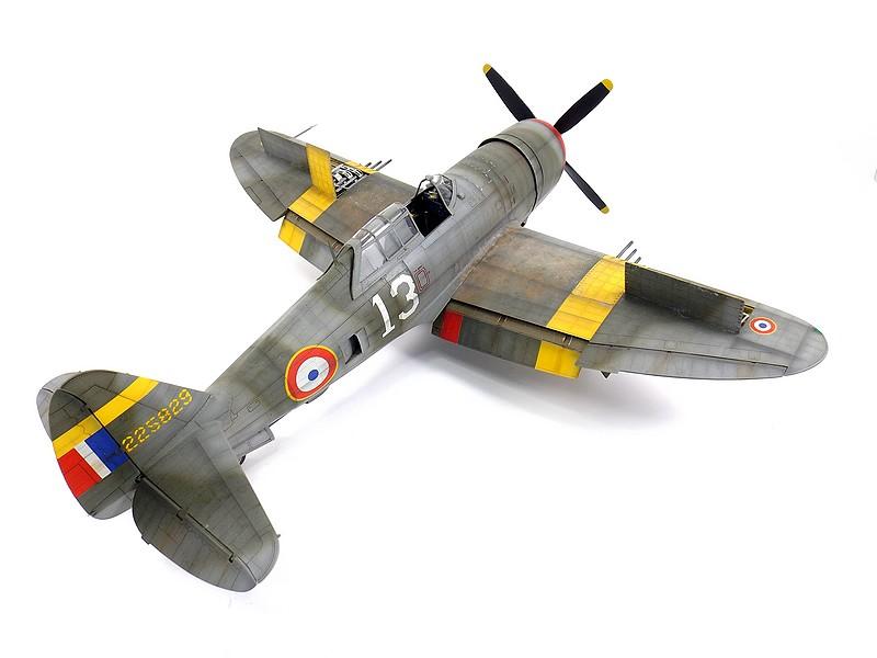 "P 47D ""Razorbak""  GC II/5 Lafayette P-47d-15"