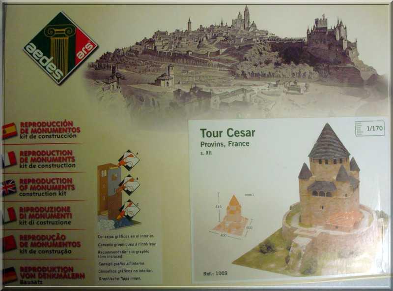 Aédes Ars.... La Tour CESAR de  PROVINS Boite10
