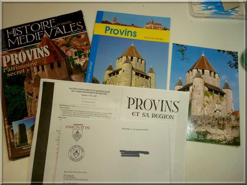 Aédes Ars.... La Tour CESAR de  PROVINS Docume12