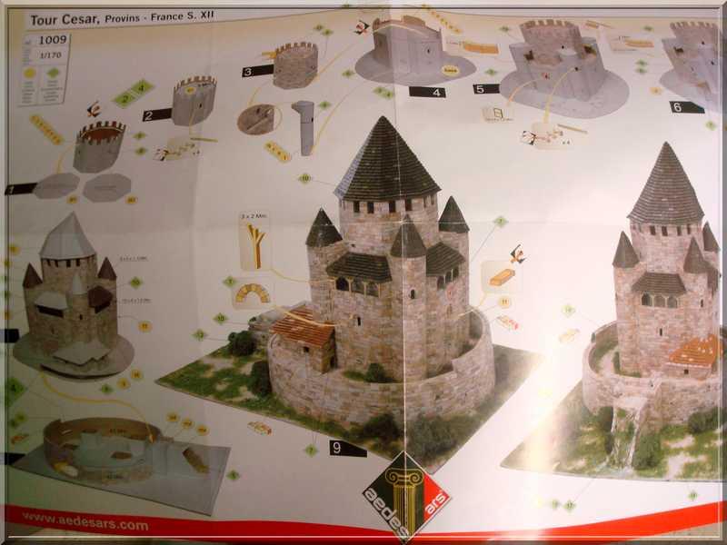 Aédes Ars.... La Tour CESAR de  PROVINS Plan_t11
