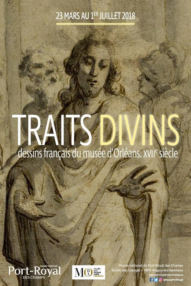 Traits divins. Dessins français du musée d'Orléans. XVIIe s. Dwobx511