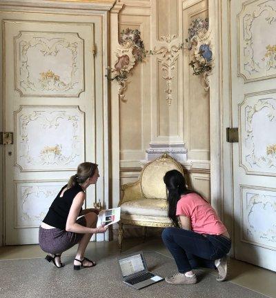 Conservation préventive Demeures historiques/châteaux-musées Img_2710
