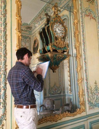 Conservation préventive Demeures historiques/châteaux-musées Img_6910