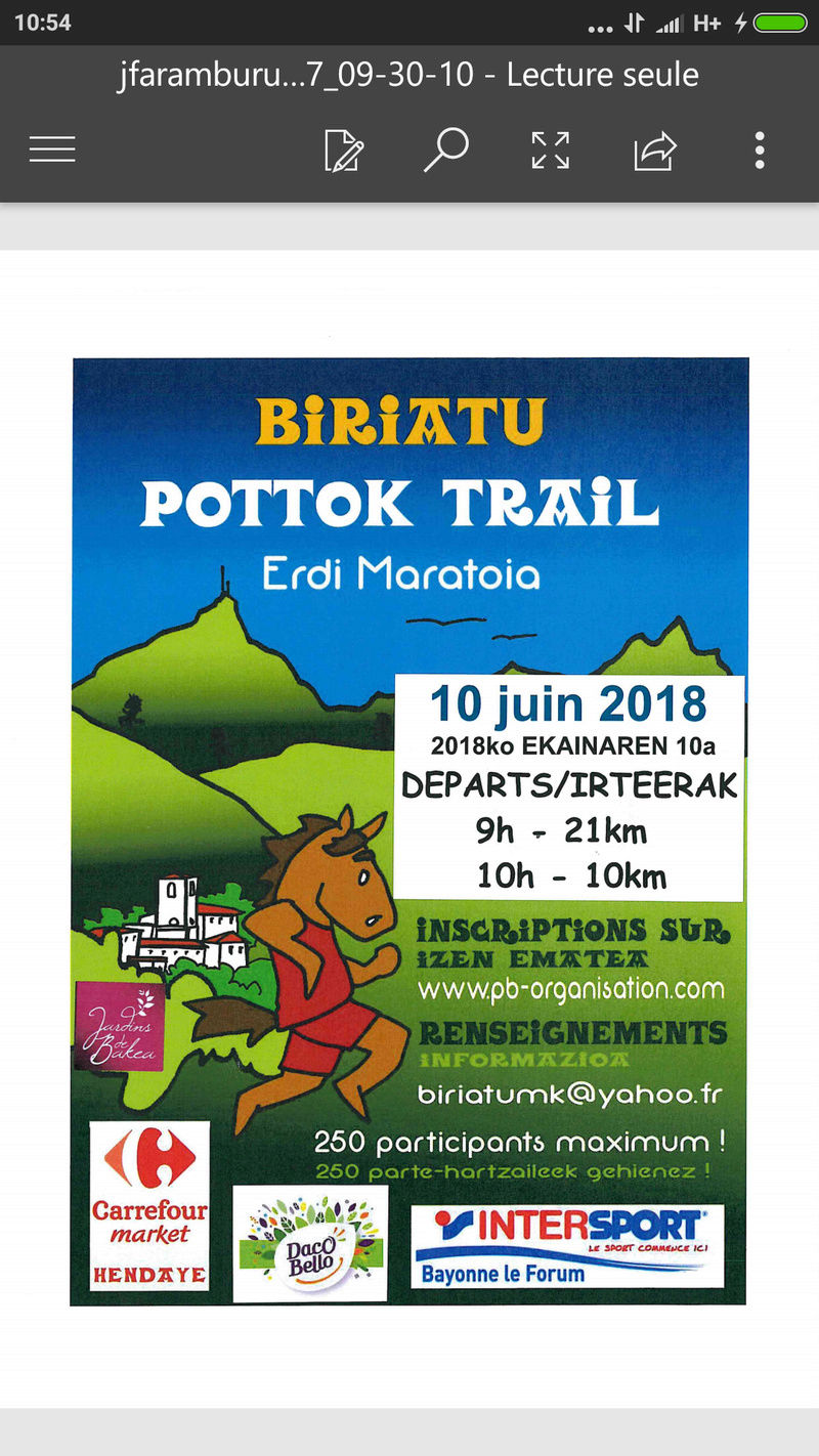 POTTOKO TRAIL A BIRIATOU LE 10/06/2018 Screen10