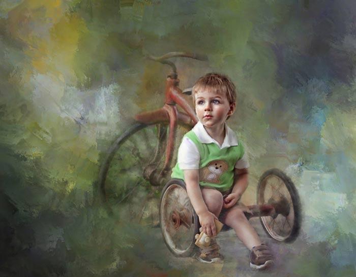 روعة الاطفال Paintc10
