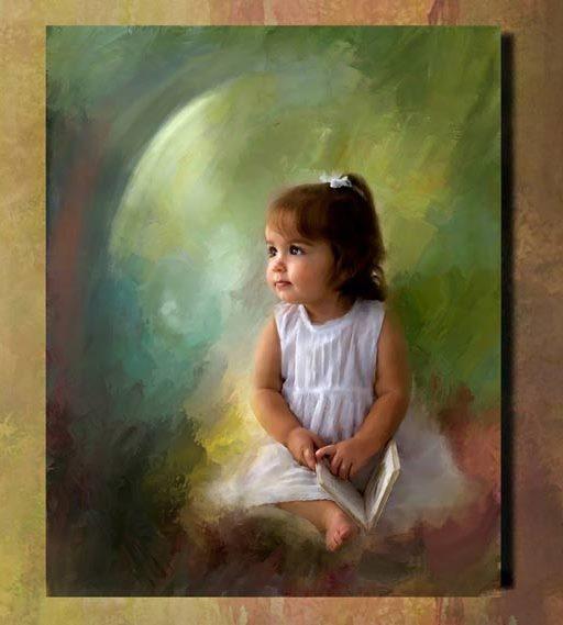 روعة الاطفال Paintc12