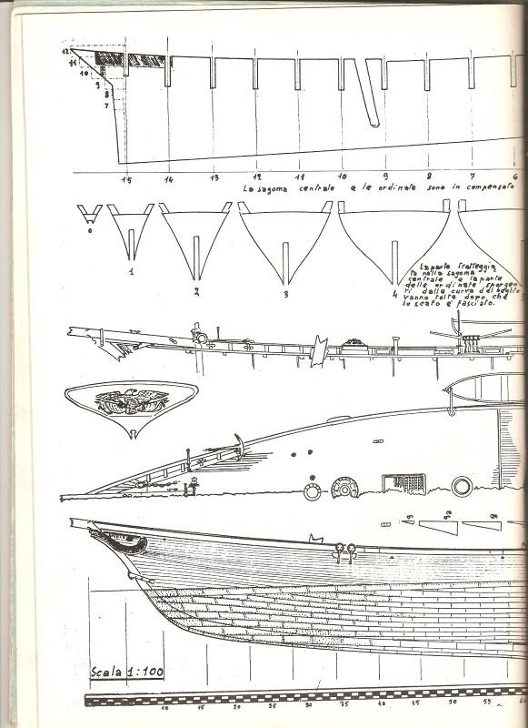 piani  https - modellistinavali forumattivo com - Piani di cantiere schooner America 00310