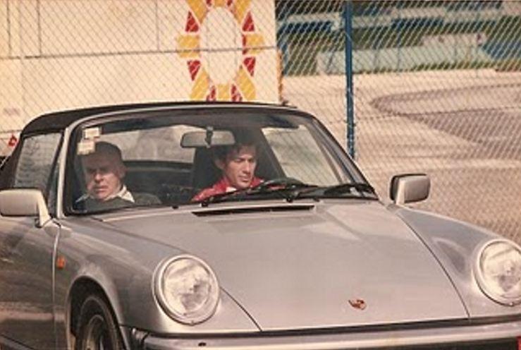 Les stars et les Porsche 000a39