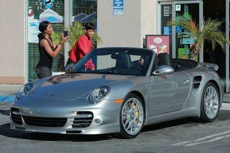 Les stars et les Porsche 000a45