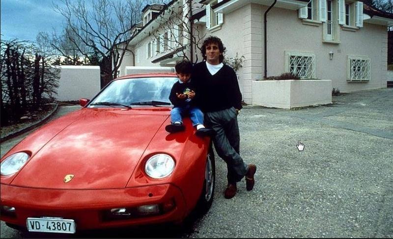 Les stars et les Porsche 000aab12